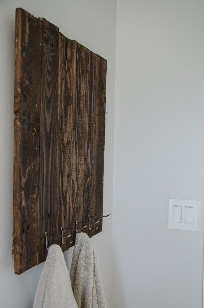 1000 Ideas About Pallet Towel Rack On Pinterest Towel