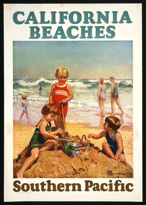 Vintage California Poster 34