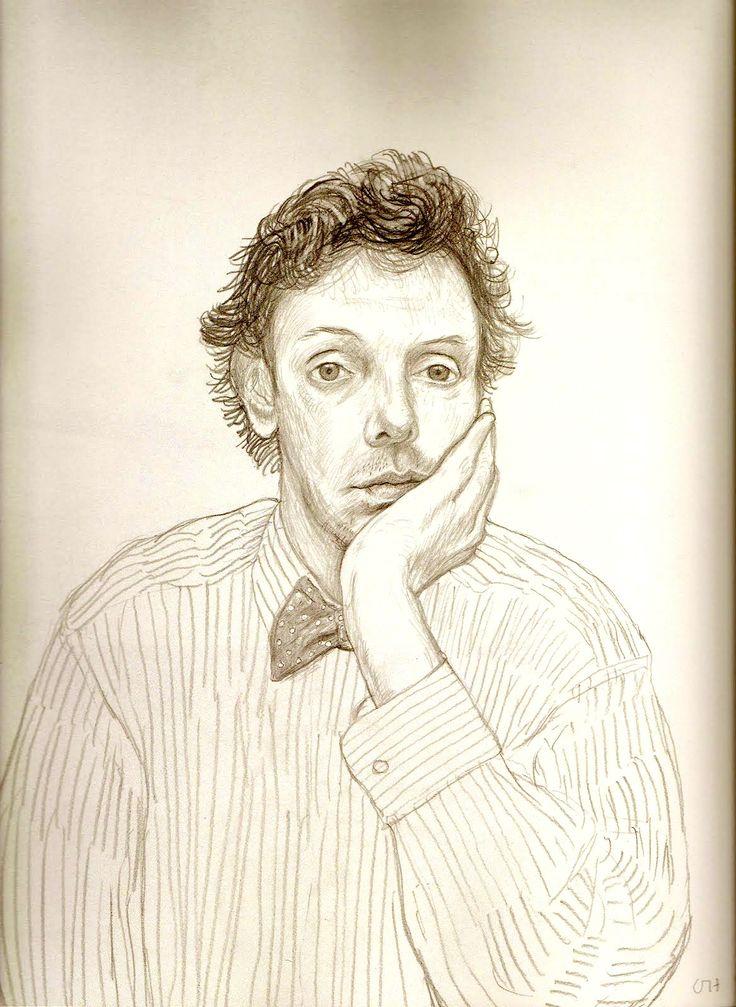 David Hockney: Study of Gregory