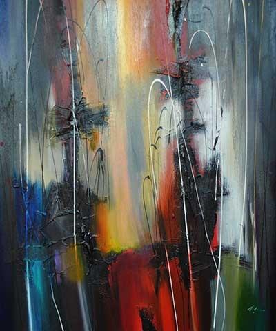 Grande Festa - painting by Pietro Adamo at Crescent Hill Gallery