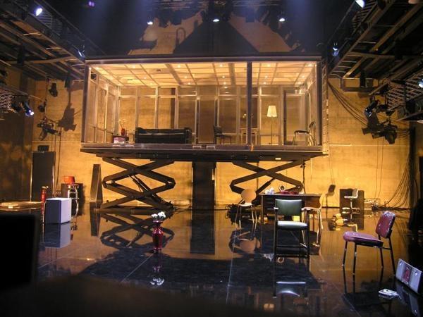 "SCENIC DESIGN : ""Pains of Youth"" / Ferdinand Bruckner Belgarde Theatre ,Coventry , ENGLAND 2007 Director : Gadi Roll Set : Roni Toren Costumes : Monika Nisbit Lighting : Mark Howland"
