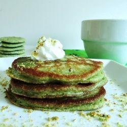 Pistachio Pancakes HealthyAperture.com