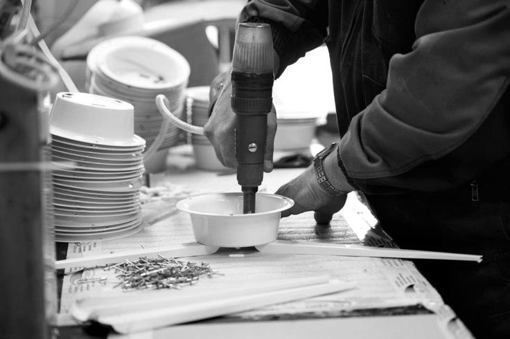 Jukka Korpiheteen Lundialle suunnittelmat valaisimet valmistetaan käsin Suomessa.