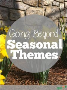 Going Beyond Seasonal Themes in Speech Therapy from Activity Tailor. Pinned by SOS Inc. Resources pinterest.com/sostherapy/