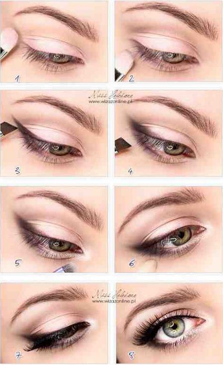 16 Useful Cat Eye Makeup Tutorials - Pretty Designs