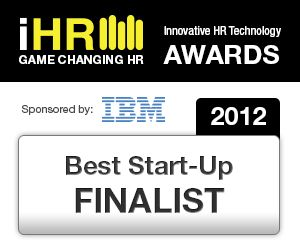 Best Start-Up Finalist Award at the HR Tech Europe 2012 iHR competition