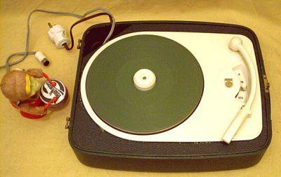 Philips AG 2117 Plattenspieler