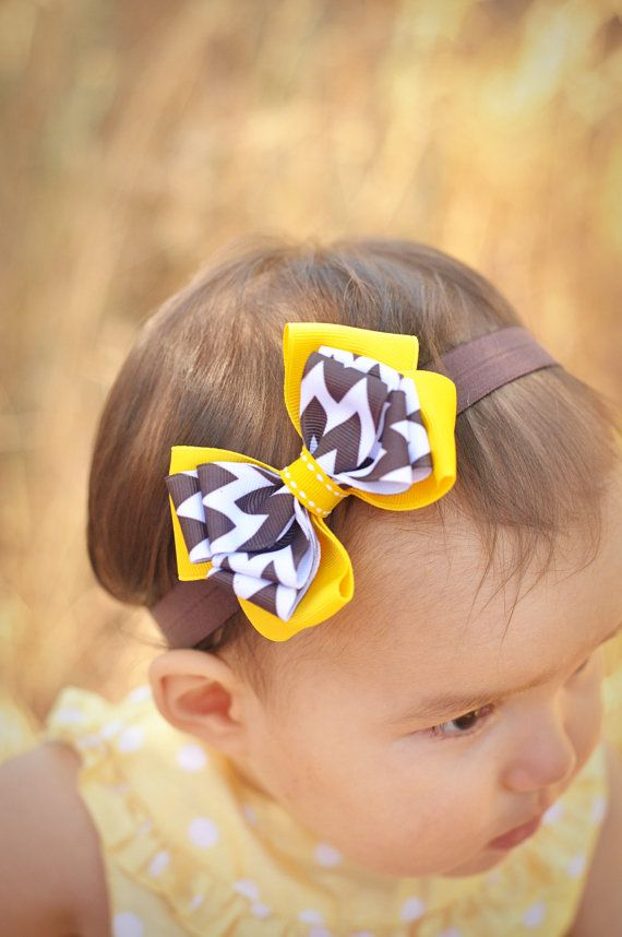 Belle Boutique Baby Bow, Disney Bow, OTT Bow, Disney Vacation Bow, Boutique Headband, Disney Headband, Princess Bow, Beauty And The Beast on Etsy, $12.95