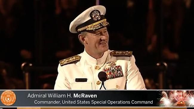 What a guy: Admiral William H. McRaven. 10 Life Lessons from a Navy Seal - #1 - Make your bed! Even if you do nothing else all day, at least you've made your bed ...