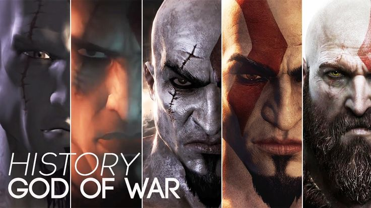 History/Evolution of God Of War (2005-2017)