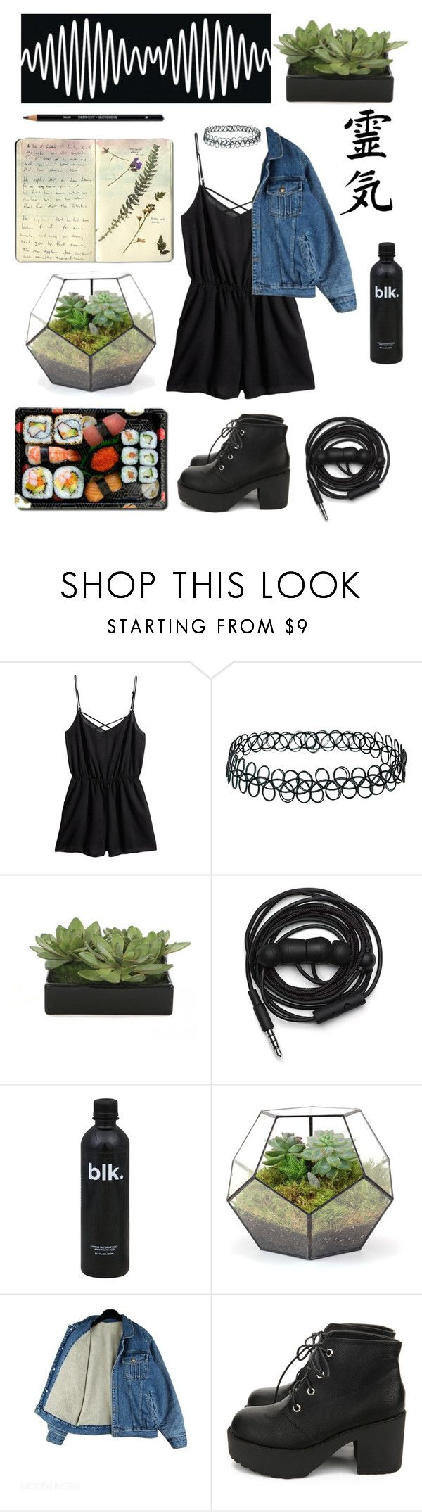 """❀burning snowflakes❀"" by venus1225 ❤ liked on Polyvore featuring H&M, Topshop, Universal, Lux-Art Silks, Jura, Urbanears, Moleskine, B-Side and Nanda Home"