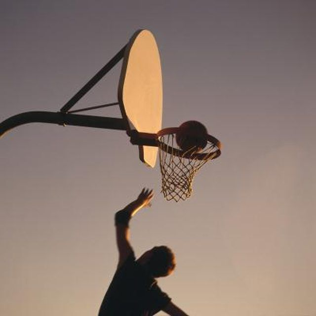 How to Restore a Fiberglass Basketball Backboard