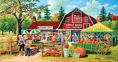 Harvest Market 500 pc Jigsaw Puzzle New