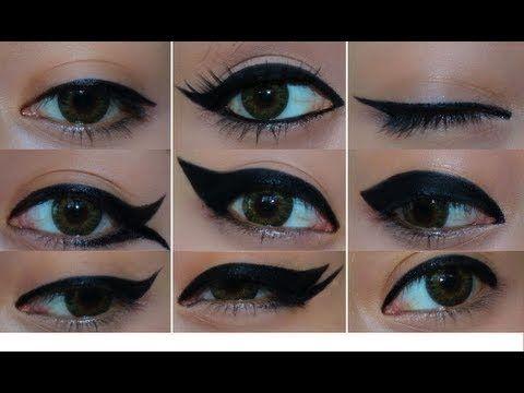 Top 9 Different Eyeliner Looks
