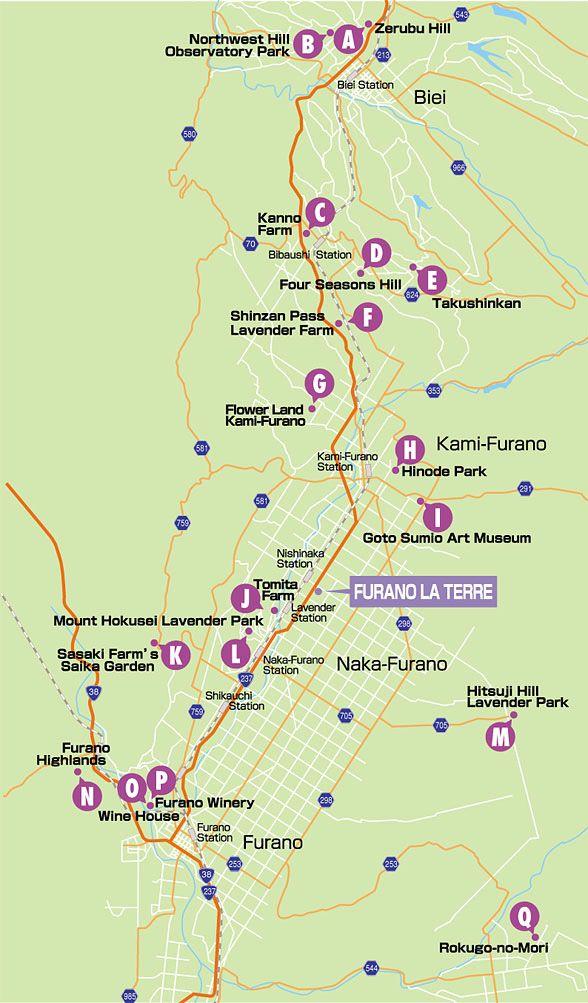 Furano attraction map