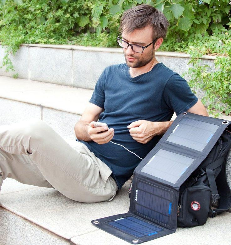 Port Solar Charger - Solar Panel Foldable Dual.