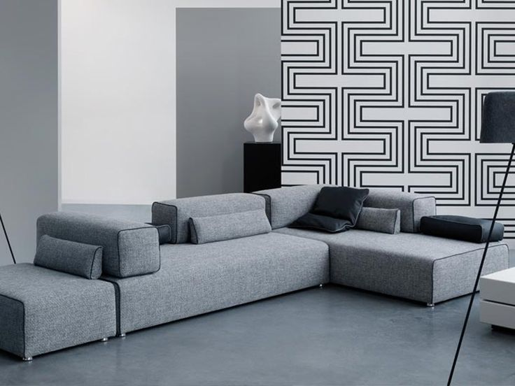 14 best sofas images on Pinterest Canapes, Couches and Sofas - design sofa moderne sitzmobel italien