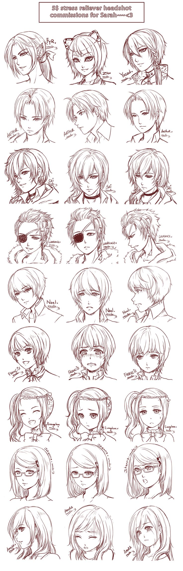 SRC - Batch 16 - From Sarah by omocha-san.deviantart.com on @deviantART