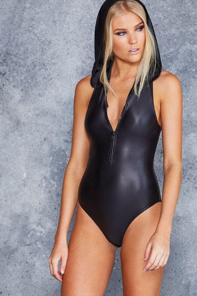 Lustre Black Hoodie Suit - CAPPED PRESALE ($90AUD) by BlackMilk Clothing
