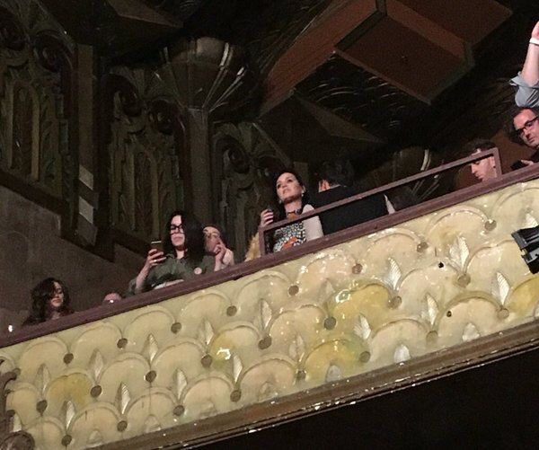 Katy and Orlando at Adele concert 2016
