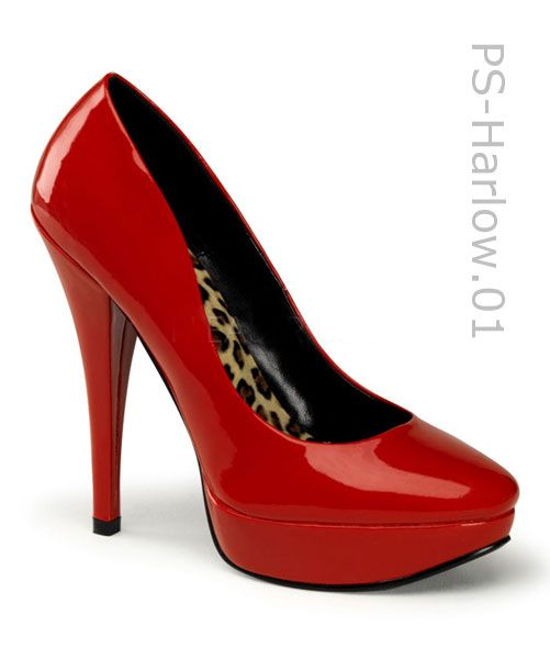 1000  images about Red Shoes on Pinterest | Pump, Platform shoes ...