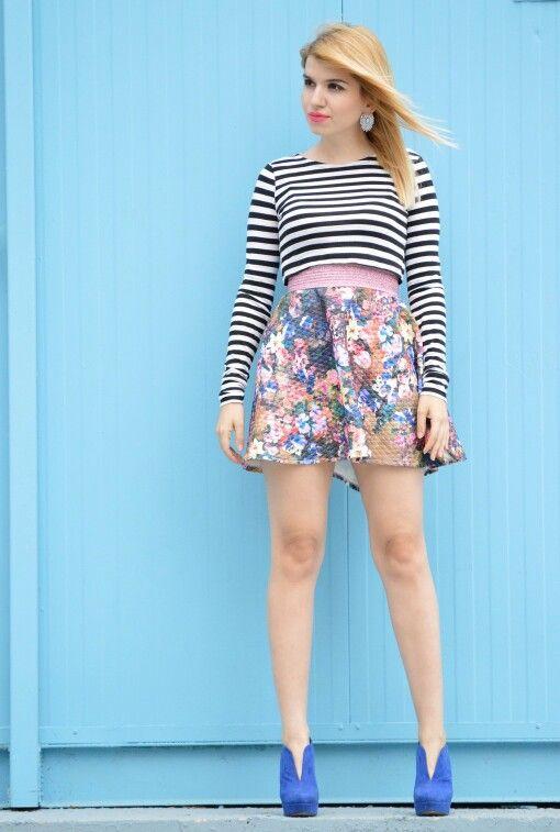 #floral #stripes #vasilikicomgr