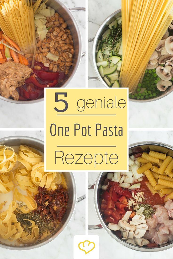 One Pot Pasta: Mit einem Topf zu blitzschnellem Nudelgenuss – juwely
