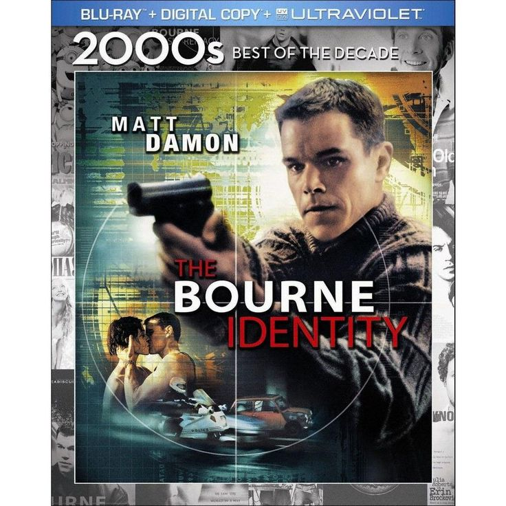 The Bourne Identity [Includes Digital Copy] [UltraViolet] [Blu-ray]
