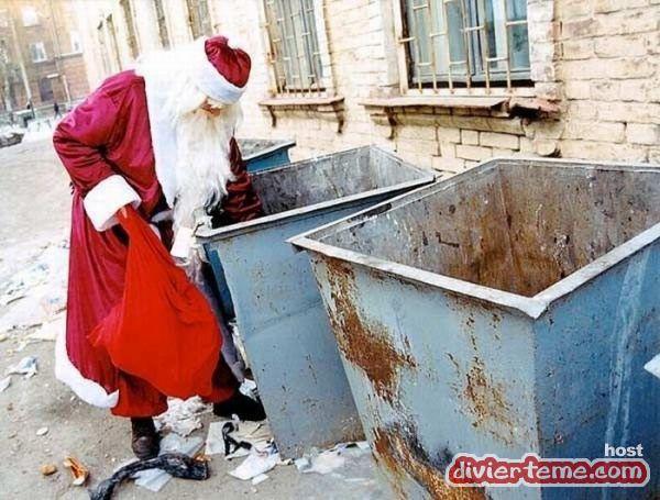 Imagenes divertidas de santa Claus 1