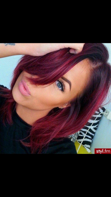 best hair images on pinterest colourful hair cabello de