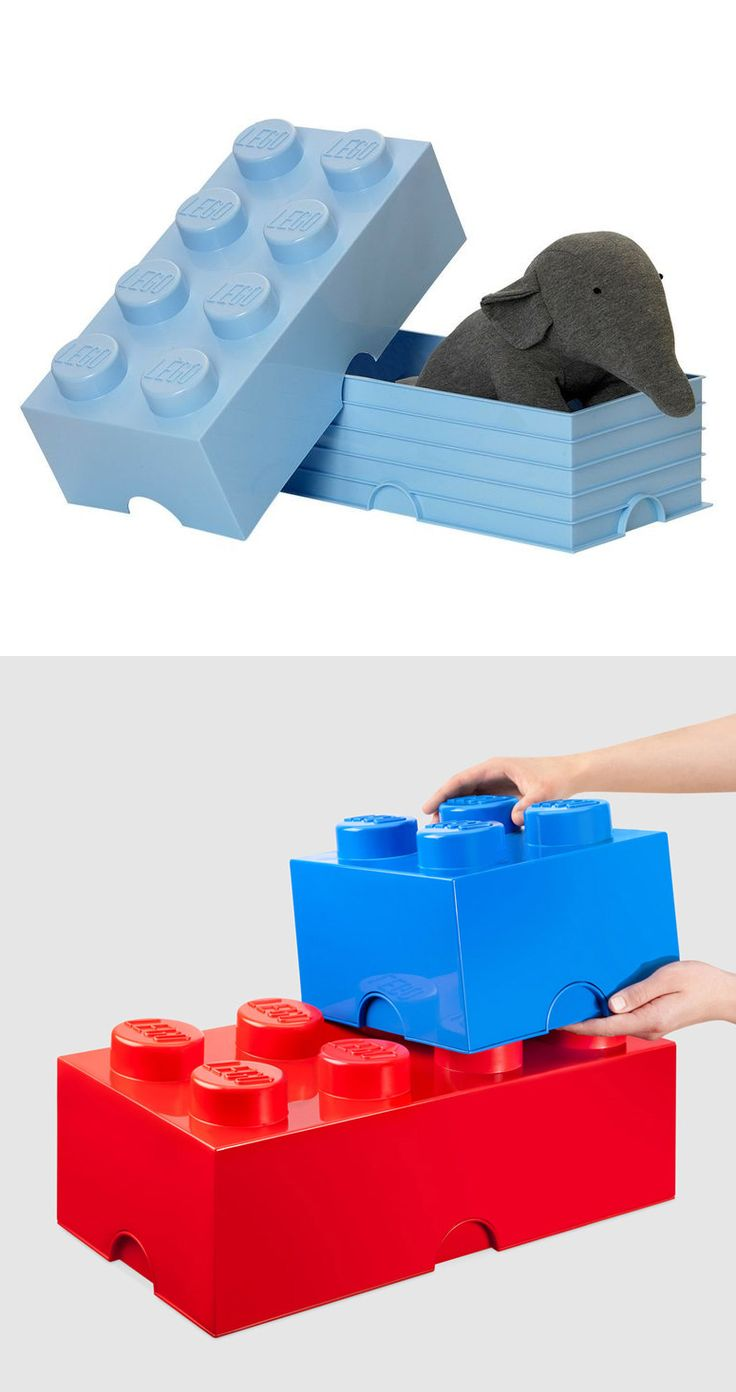 Giant #Lego Storage Brick // Up-sized and so fun! #product_design