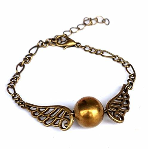 Made in USA B - 072 Harry Potter Steampunk Flying in Bronze Double Wings Golden Tone Ball Snitch Bra @ niftywarehouse.com #NiftyWarehouse #HarryPotter #Wizards #Books #Movies #Sorcerer #Wizard