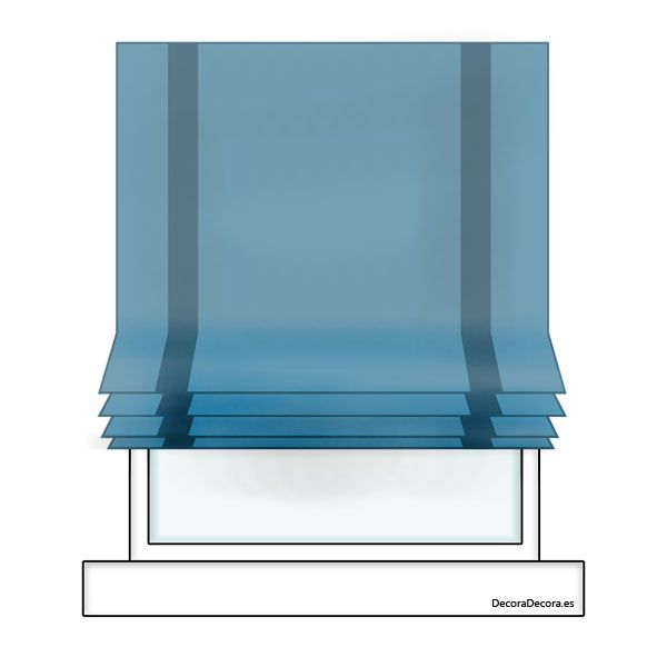 1000 ideas about tipos de cortinas on pinterest - Cortinas tipo persiana ...
