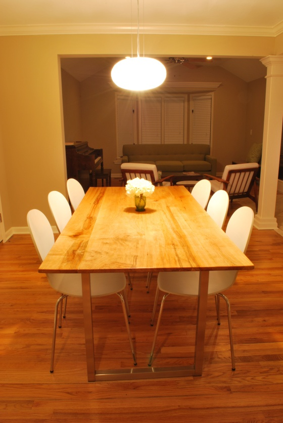 Homemade Dining Room Table Custom Inspiration Design