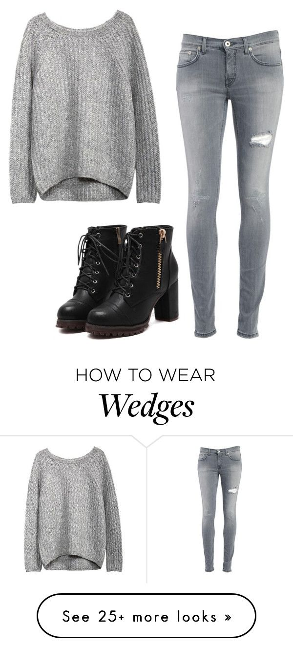 """Untitled #573"" by this-is-the-world-i-live-in on Polyvore featuring Dondup"