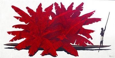Desplazamiento by Colombian artist Pedro Ruiz