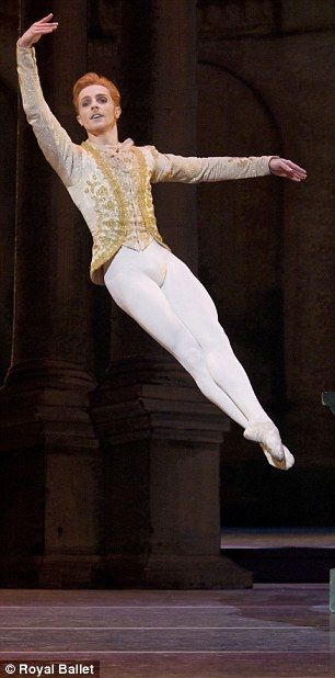 Incredible: McRae appears to be floating in this stunning image from The Sleeping Beauty.