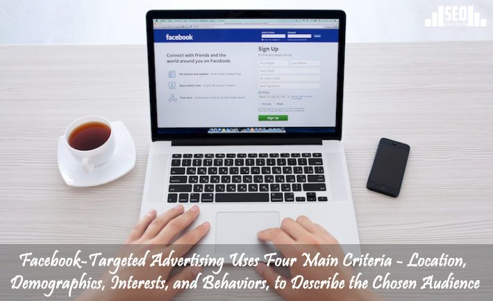 Facebook-targeted advertising uses four main criteria - location, demographics, interests, and behaviors, to describe the chosen audience.  If you need to increase ROI for your website, please visit : http://www.seo-service-provider.org/ and select a SEO package  #SEO #Facebook #advertising #criteria #location #demographics #interests #behaviors #audience