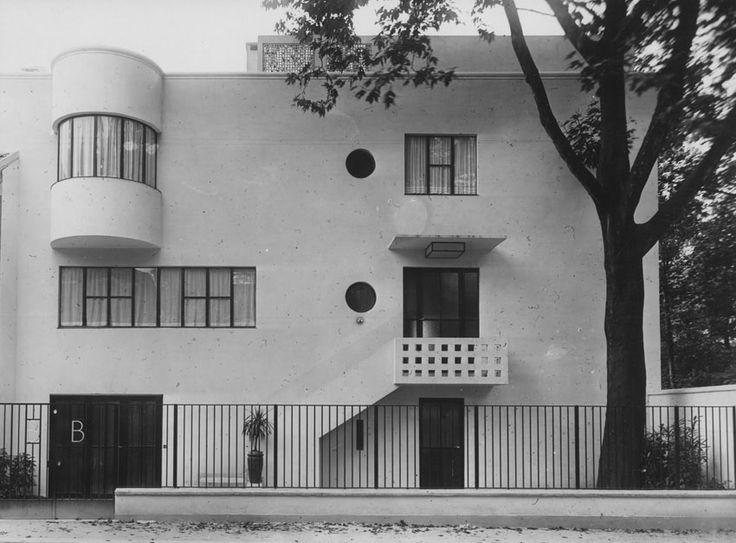 andr lur at villa bomsel versailles 1924 1936 modernist pinterest house 1920s and villas. Black Bedroom Furniture Sets. Home Design Ideas