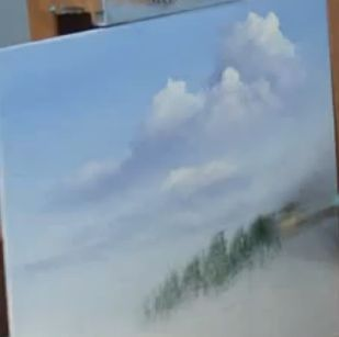 Let's Make a Painting: Learn how to paint cloud shadows