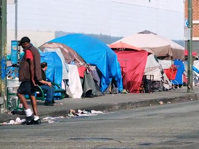 L A Tops Nation In Chronic Homeless Population Homeless Urban Camping National