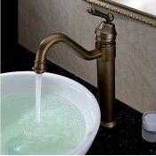 Classic Antique Bronze Finish Bathroom Sink Tap