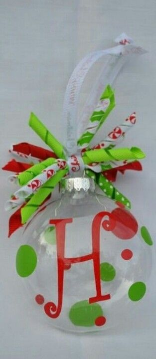 Homemade ornament @Susan Casselman you could make these!