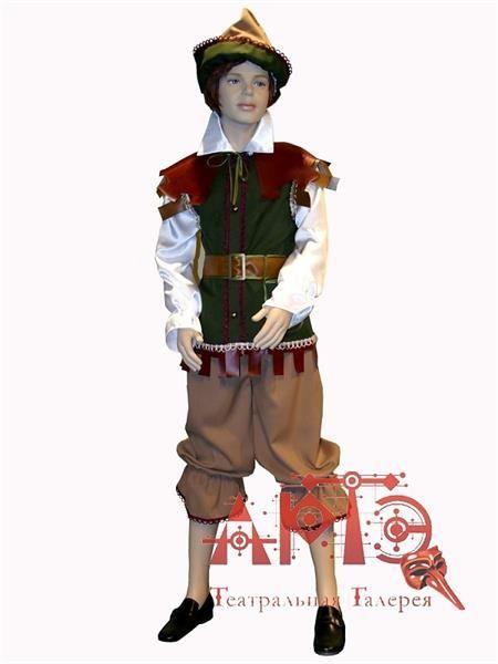 Шитье пошив детского маскарадного костюма робин гуд