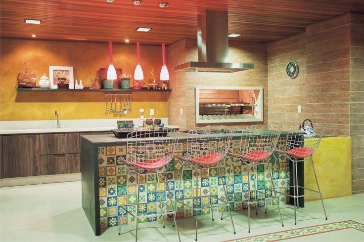 Áreas externas – Churrasqueira e espaço Gourmet