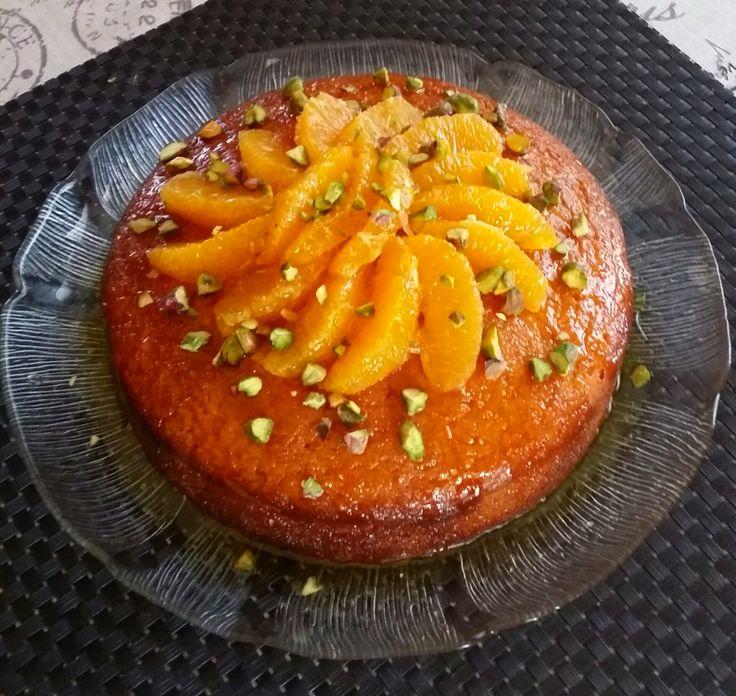 Yoghurt and Orange Syrup Cake