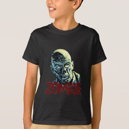 #Zombie T-Shirt - #cool #kids #shirts #child #children #toddler #toddlers #kidsfashion