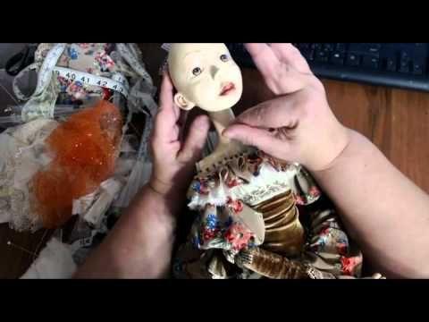Мастер-класс Авторская будуарная кукла Юленька.