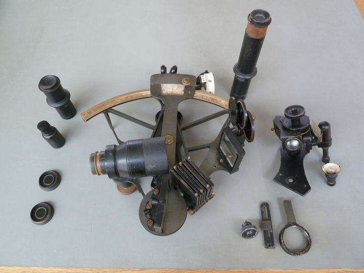 A 'nautical sextant' was used for teaching purposes at the Nautical Department of the Sir John Cass College