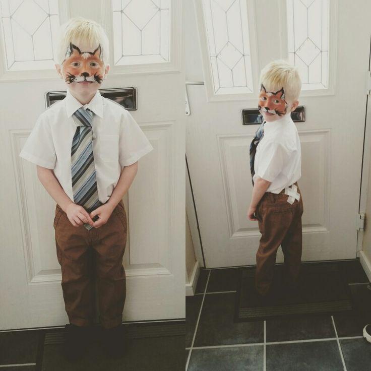 Fantastic Mr Fox costume Roald Dahl characters last minute dress up